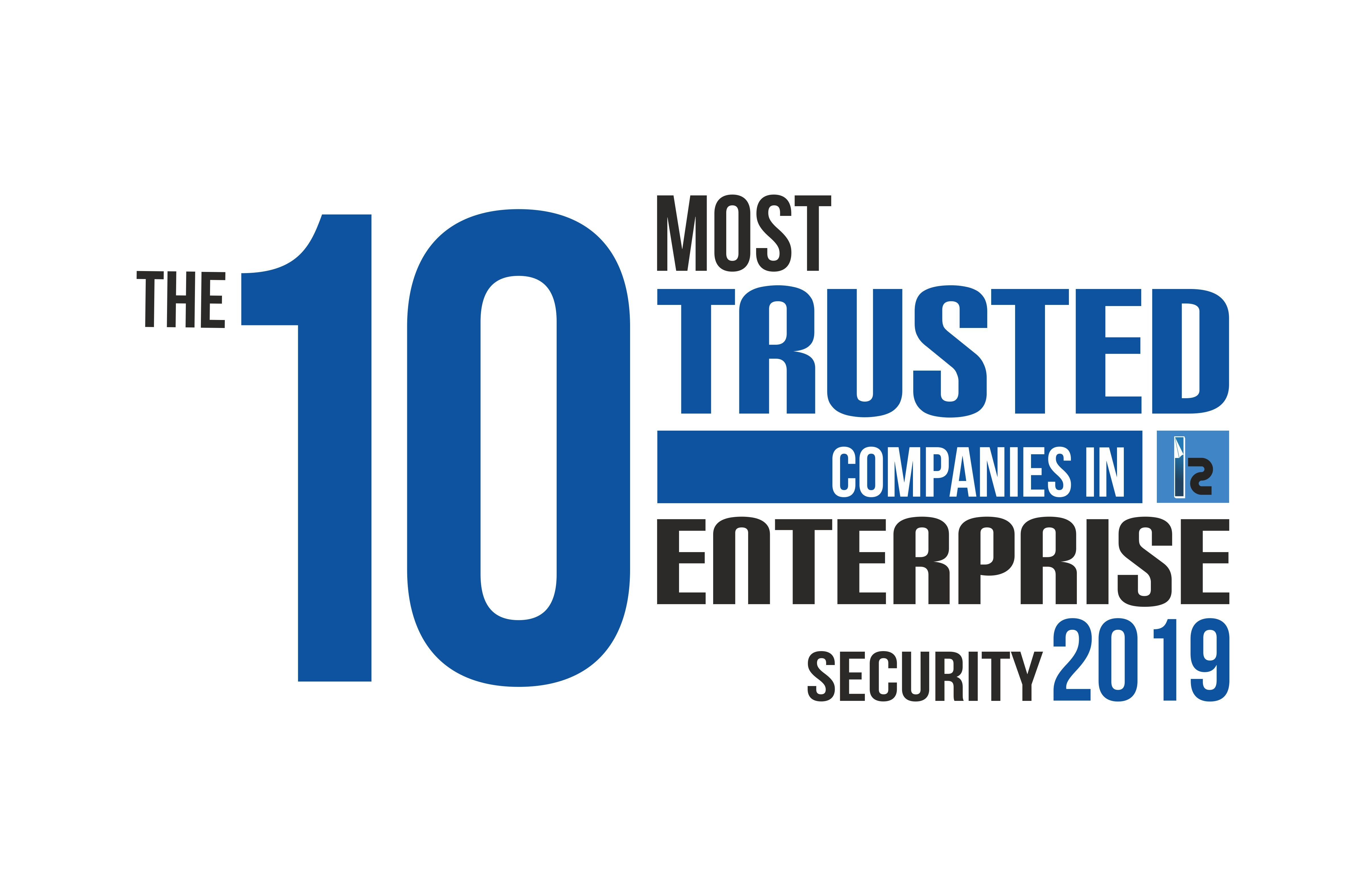 IS 10 Most Trsuted Companies in Enterprise Security logo