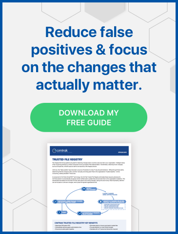 Download the free guide from Cimcor to help reduce false positives & focus on the changes that actually matter.