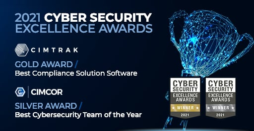 Cimcor Wins Cybersecurity Excellence Awards for Best Compliance Solution and Best Cybersecurity Team of 2021