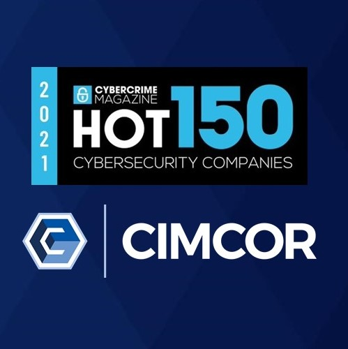 Cimcor Named as HOT150 Cybersecurity Company for 2021